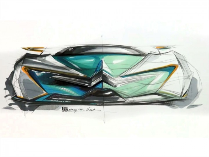 Car Sketch and Design