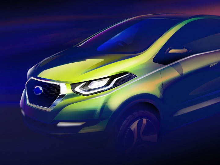 Datsun previews design direction with concept sketch