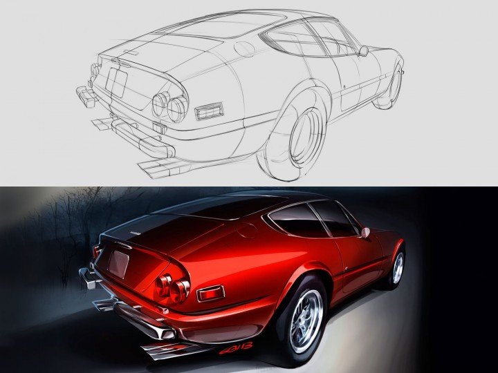 Daytona Rendering Process
