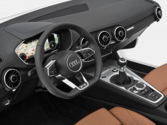 Audi reveals new TT interior at CES