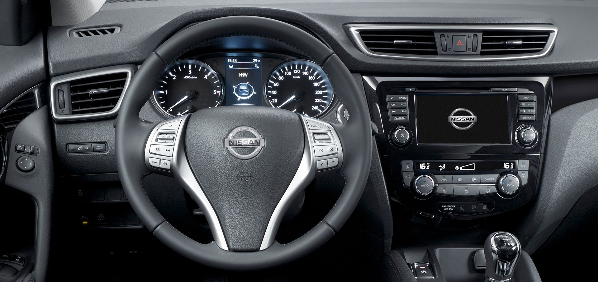 Nissan Qashqai Interior - Dashboard and IP - Car Body Design