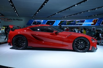 Toyota FT-1 Concept at NAIAS 2014