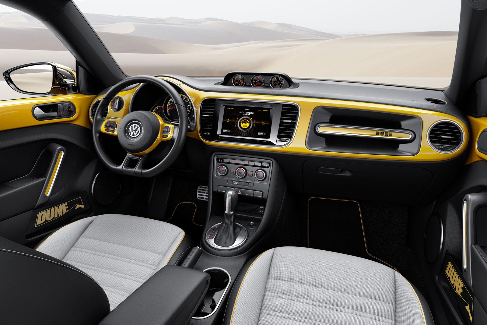 Volkswagen Beetle Dune Concept Interior Car Body Design