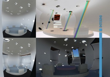 Infinity Sailing Boat Concept - Interior Design