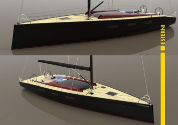 Endurance Sailing Boat Concept - Exterior Renderings