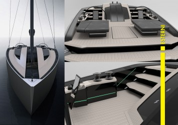 Xema Sailing Boat Concept by Timur Bozca - Exterior Renderings