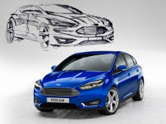 Ford reveals restyled Focus