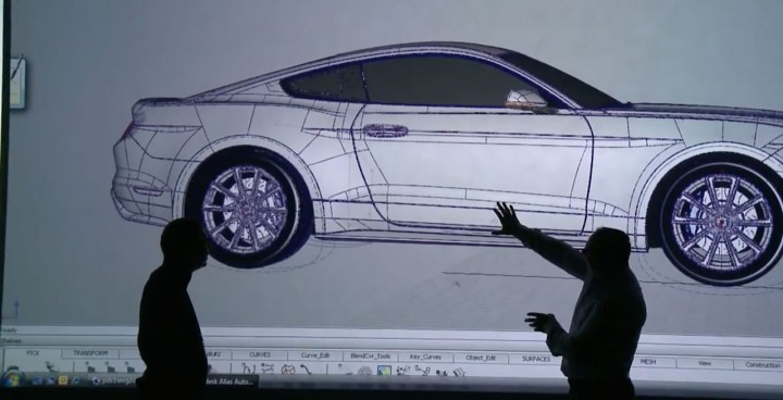 2015 Ford Mustang - Virtual Reality - Alias CAD model