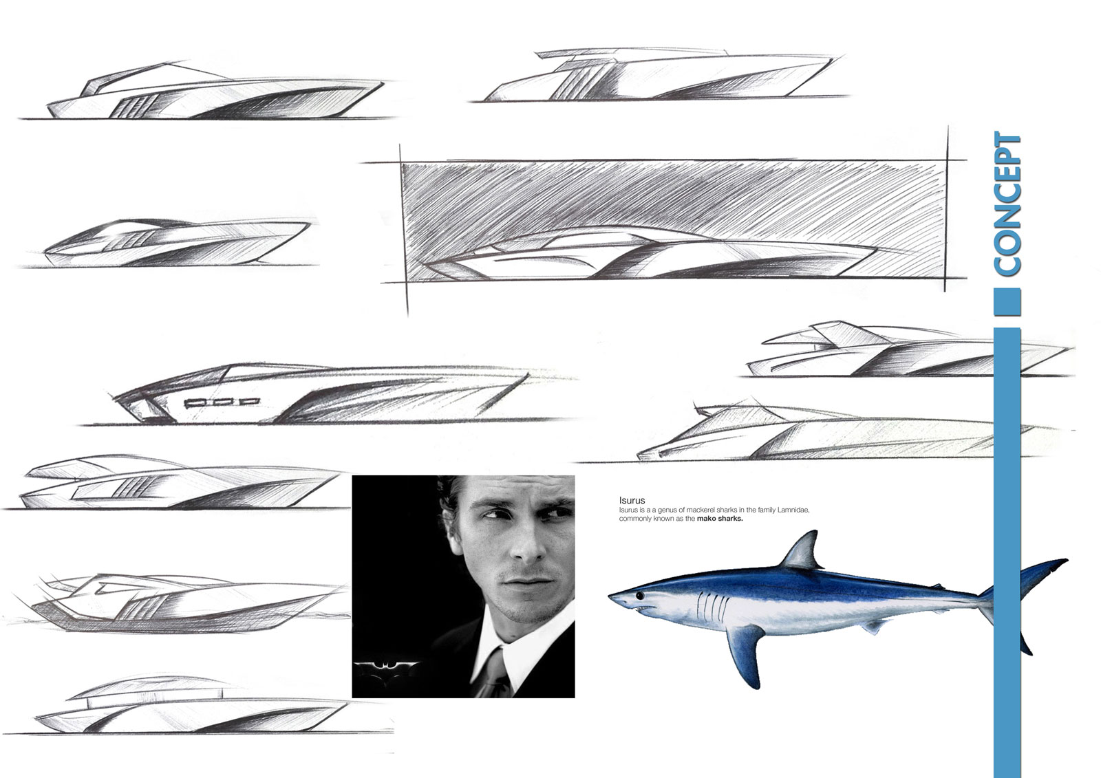 Izurus Yacht Concept Sketches and Inspiration