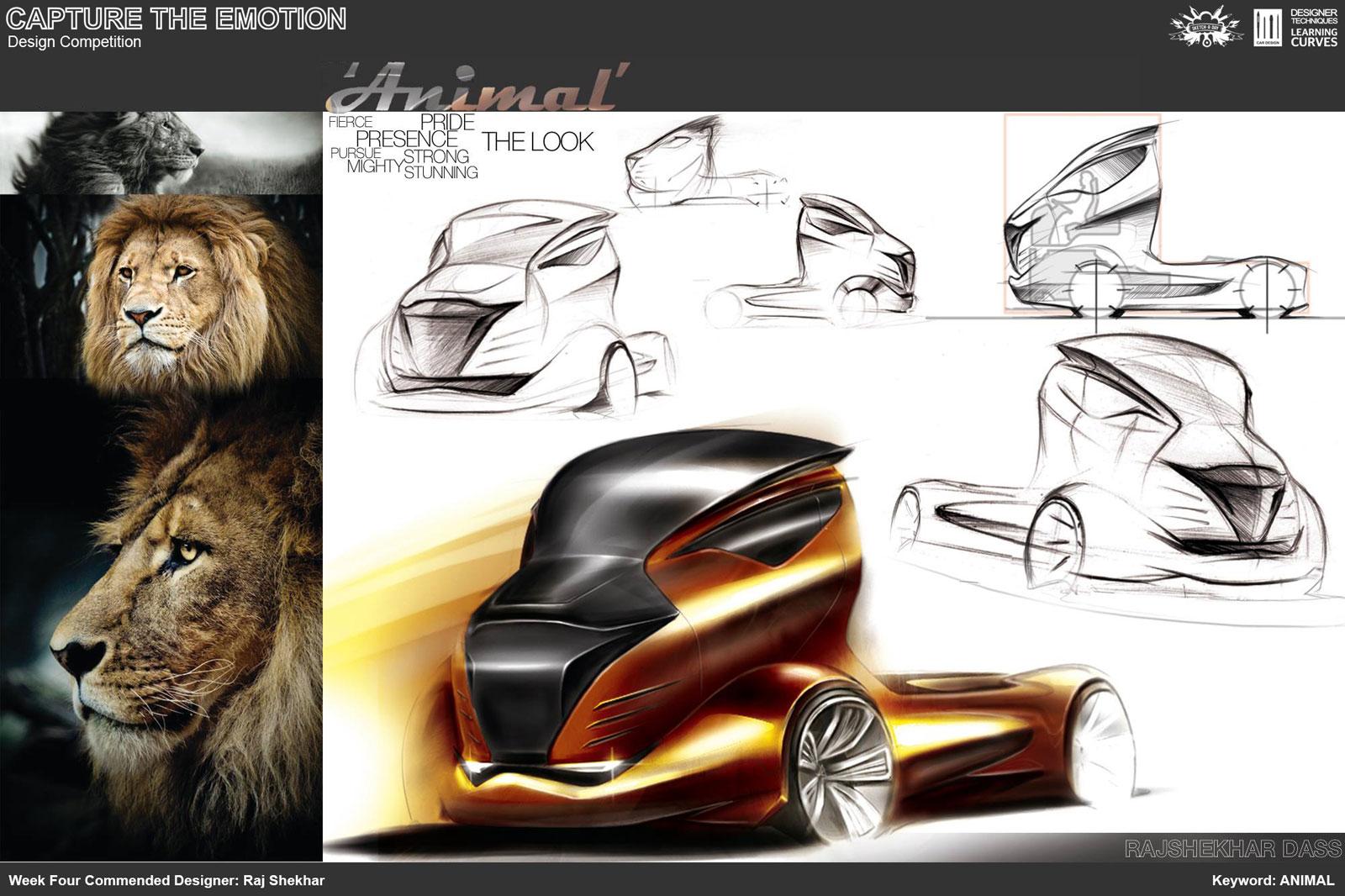 Animal Truck Concept Design Sketch by Raj Shekhar - Car Body Design