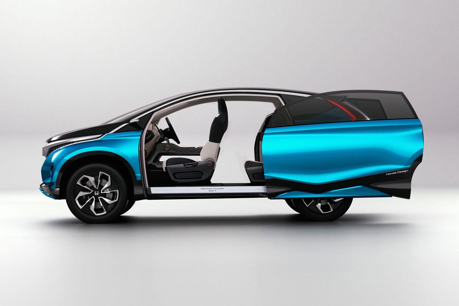 Honda Vision Xs 1 Concept Sliding Door Car Body Design