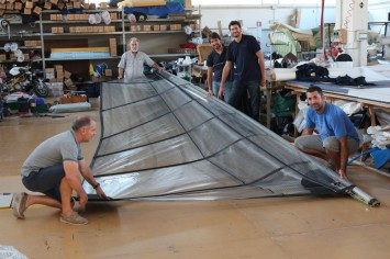 Hydrofoil Sailing Boat Prototype - Sail design at Challenger Sails
