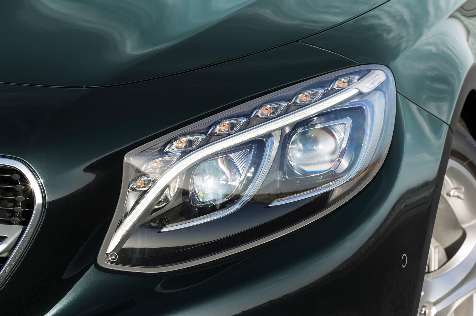 Mercedes Benz S Class Coupe Headlight Car Body Design