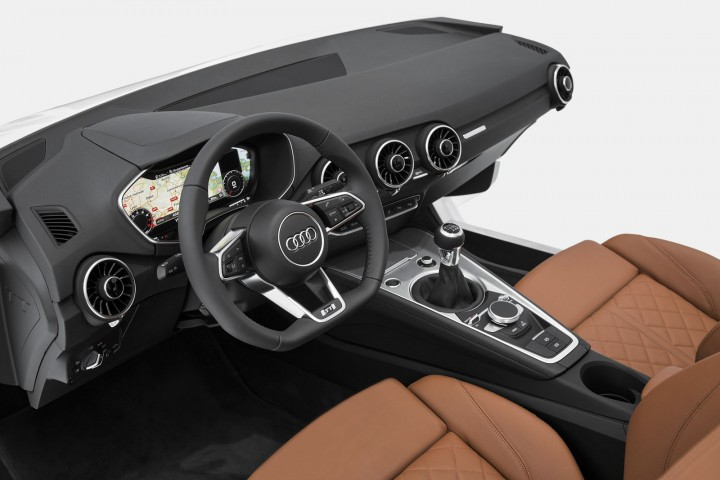 New Audi TT - Interior preview at CES