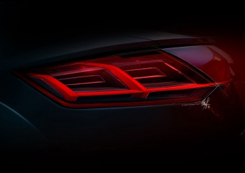 New Audi TT - Tail Lamp Design Sketch