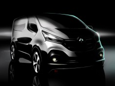Renault previews next-generation Trafic
