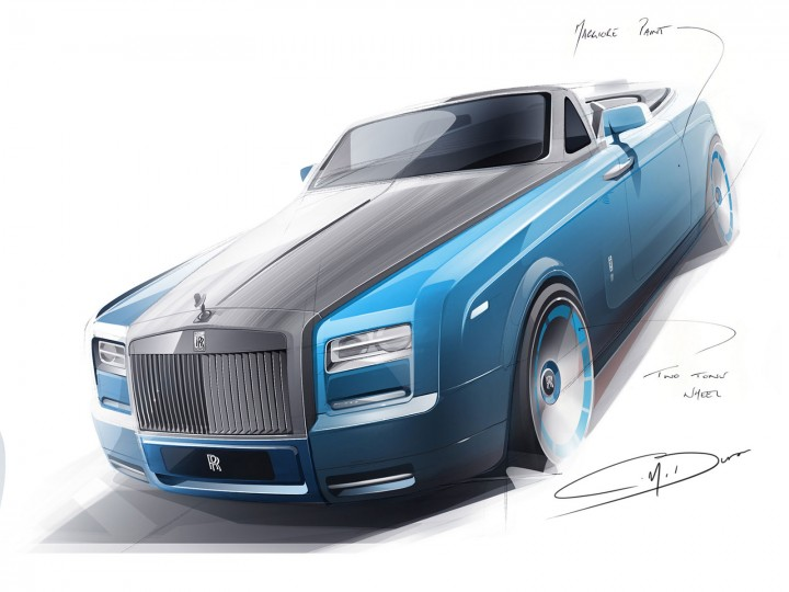 Rolls Royce Previews Bespoke Waterspeed Collection Car