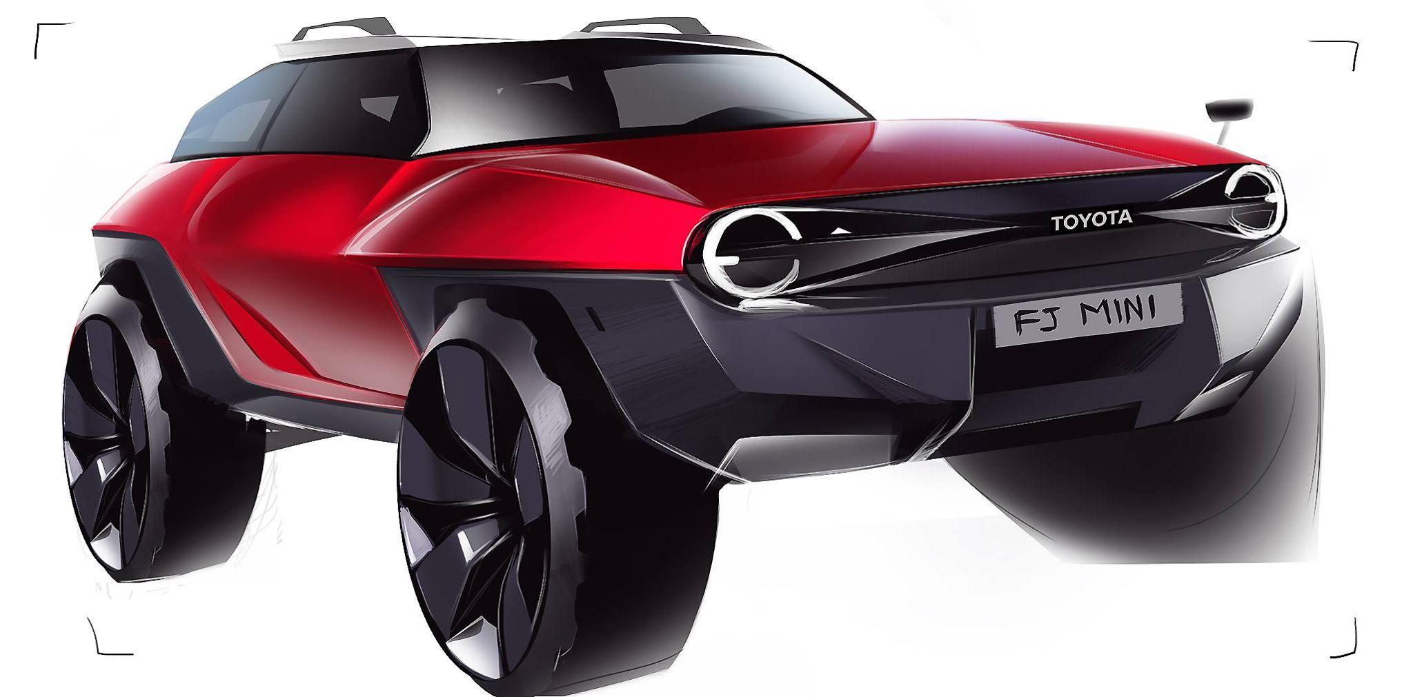 Toyota Of Alvin >> Toyota Mini Fj Cruiser Design Sketch By Alvin Tseng Accd Trans
