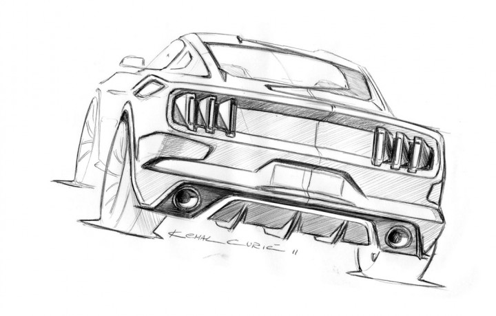 Interview With Mustang Designer Kemal Curic Page 26 Car Body Design