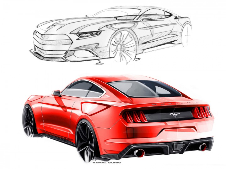 Interview with Mustang designer Kemal Curić
