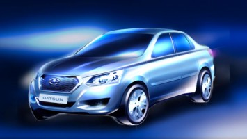 Datsun model for Russia - Preview design sketch