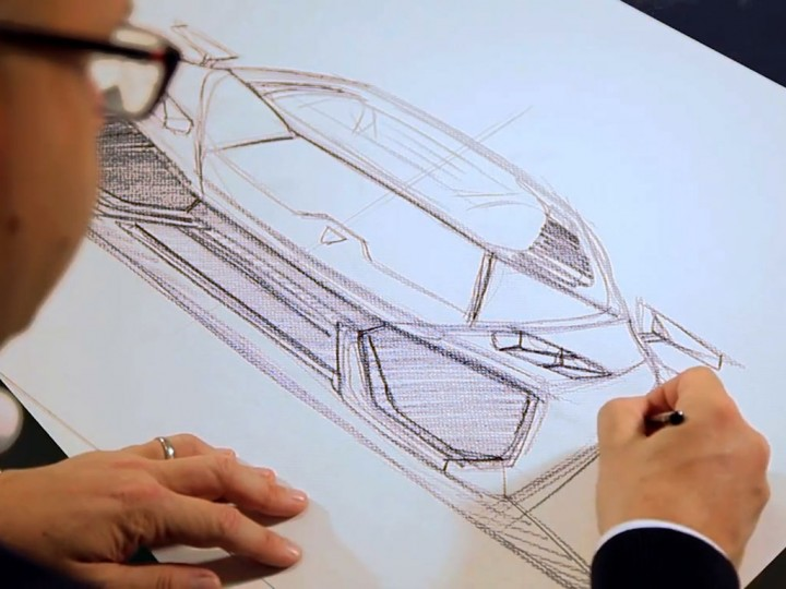 Lamborghini Huracán: design video