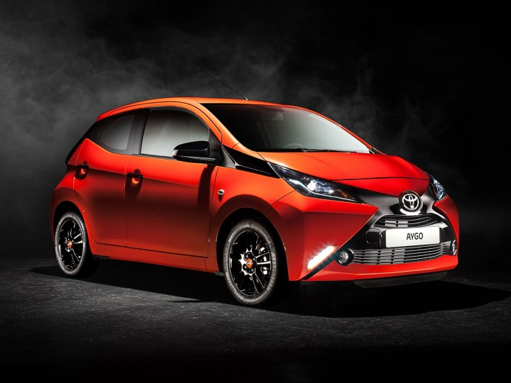Toyota Aygo: the design