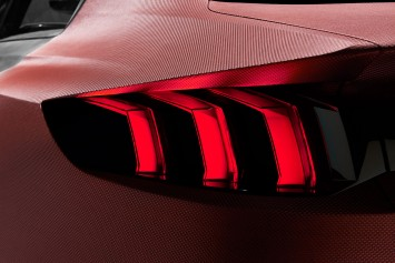 Peugeot Exalt Concept Tail lamp design