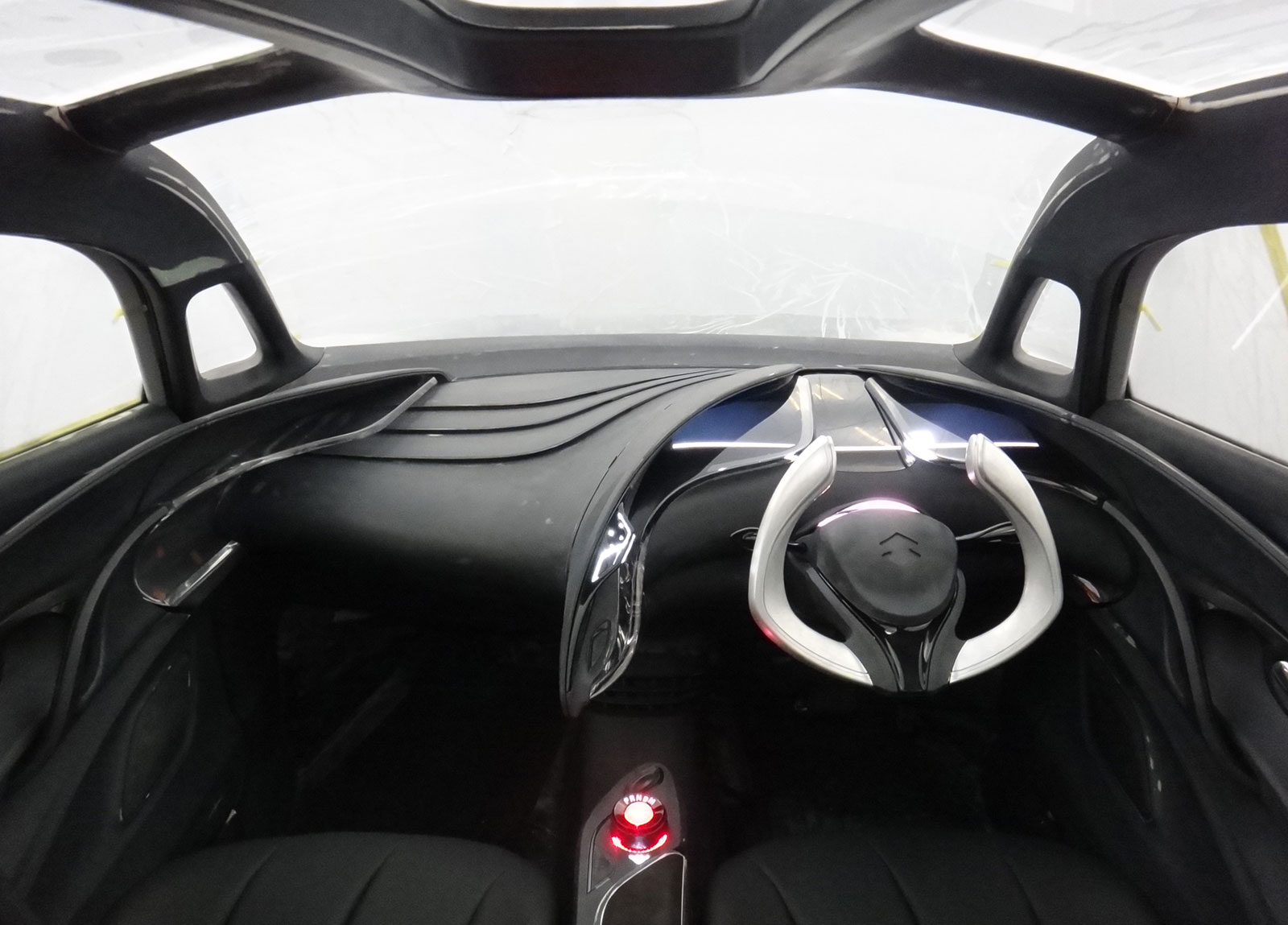Suzuki Crosshiker Concept Prototype Interior Design Process Car