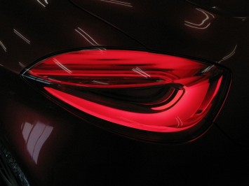 Suzuki Crosshiker Concept Prototype - Tail Light close-up