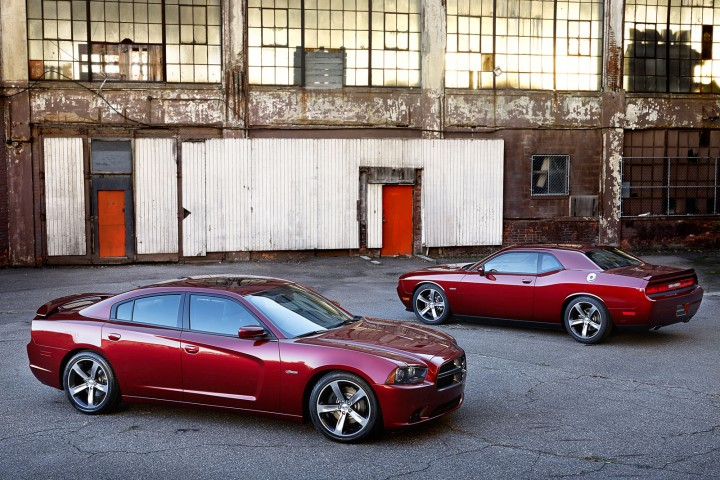 2014 Dodge Challenger and Charger