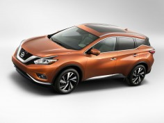 Nissan 2015 Murano: design gallery and videos
