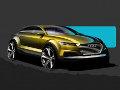 Audi reveals design sketches of Concept for Beijing