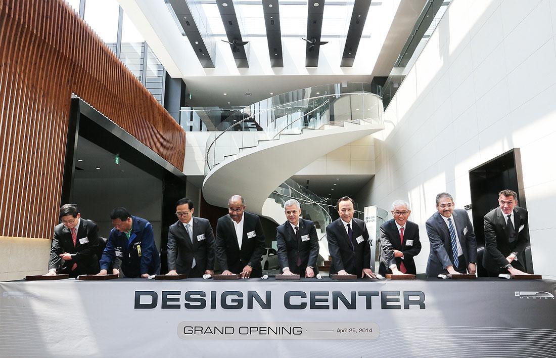 Gm Korea Design Center Inauguration Car Body Design