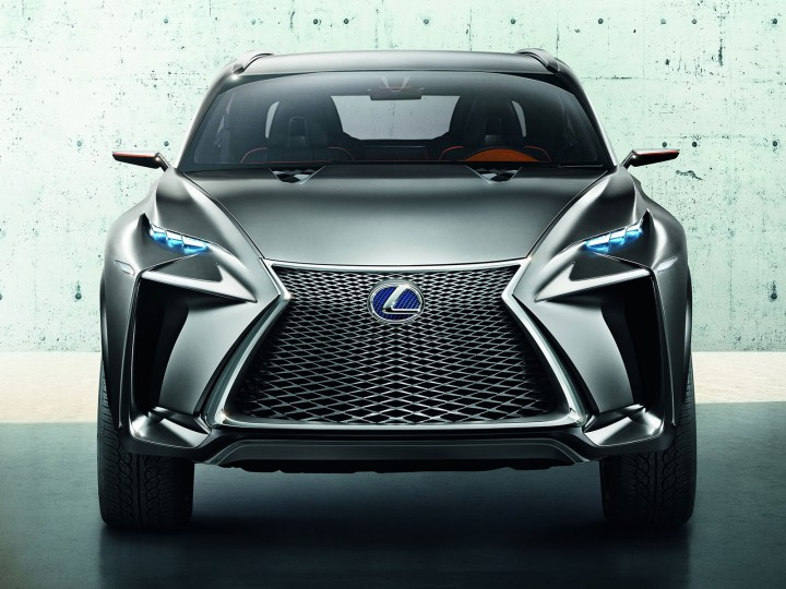 The Lexus Spindle Grille Car Body Design