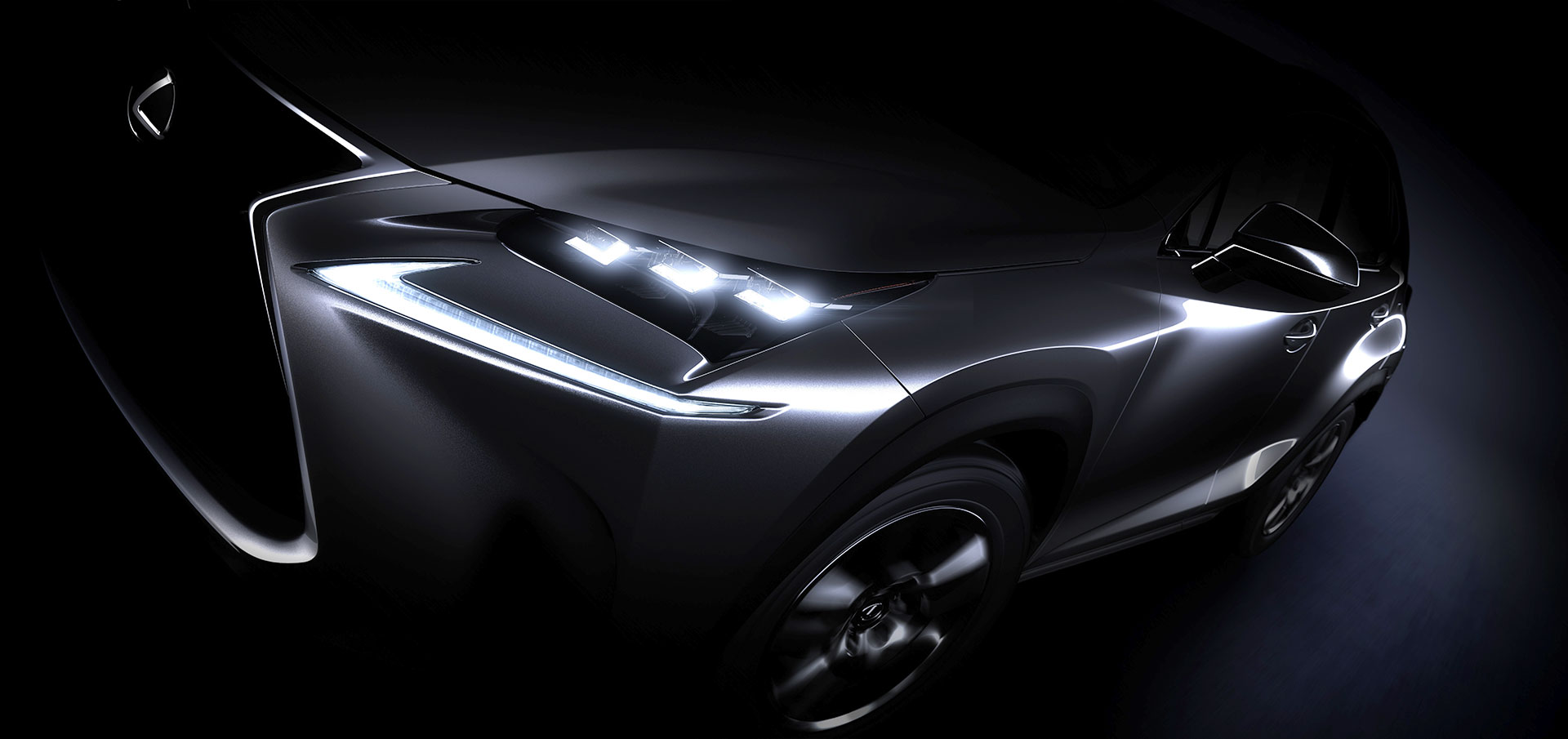 Lexus NX Crossover preview