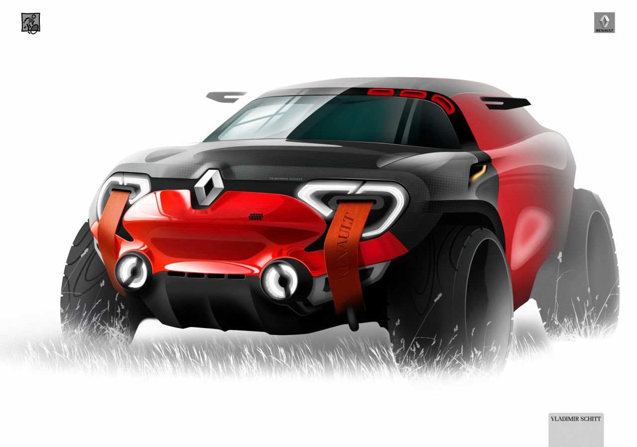 Renault Concept Design Sketch By Vladimir Schitt Car Body Design