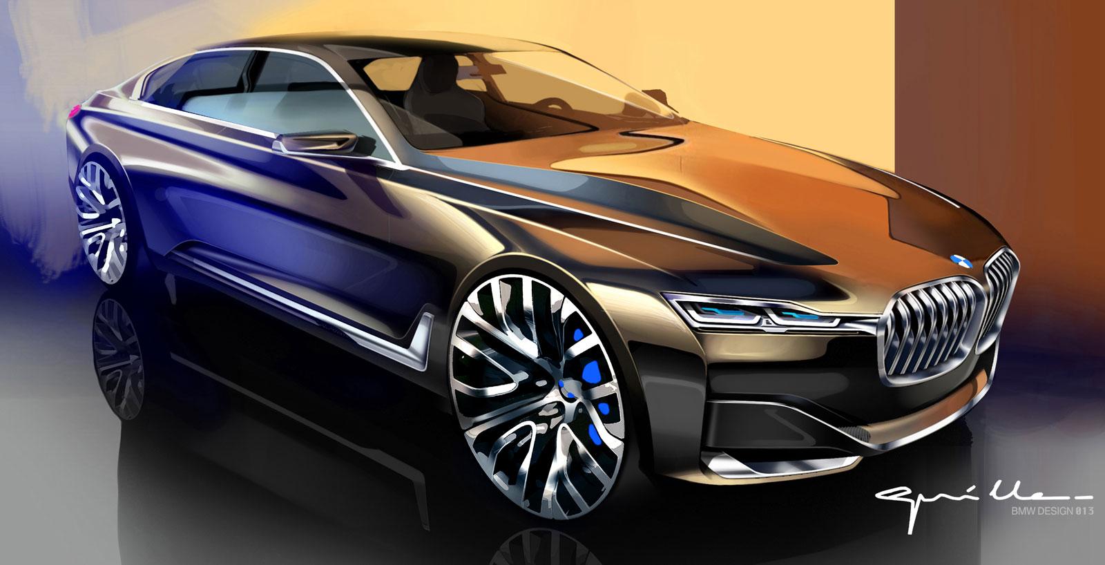 Bmw Vision Future Luxury Concept Design Sketch By Nicolas Guille Car Body Design