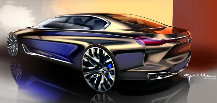 Bmw Vision Future Luxury Concept The Design Car Body Design