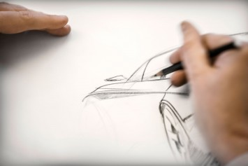 MINI Superleggera Vision Concept Design Sketching