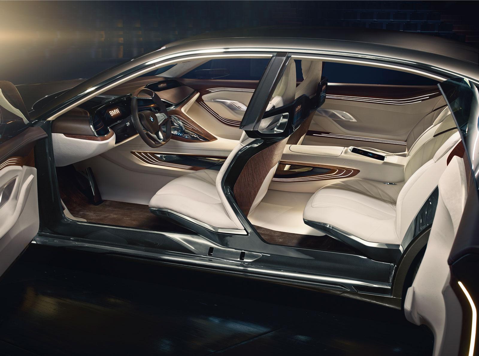 Mini Cooper BMW >> BMW Vision Future Luxury Concept Interior - Car Body Design