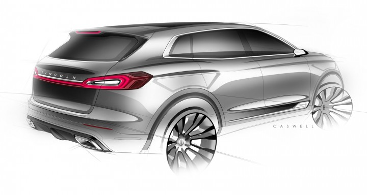 Lincoln MKX Concept - Design Sketch by John Caswell