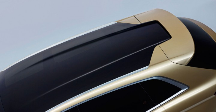 Lincoln MKX Concept - Roof detail