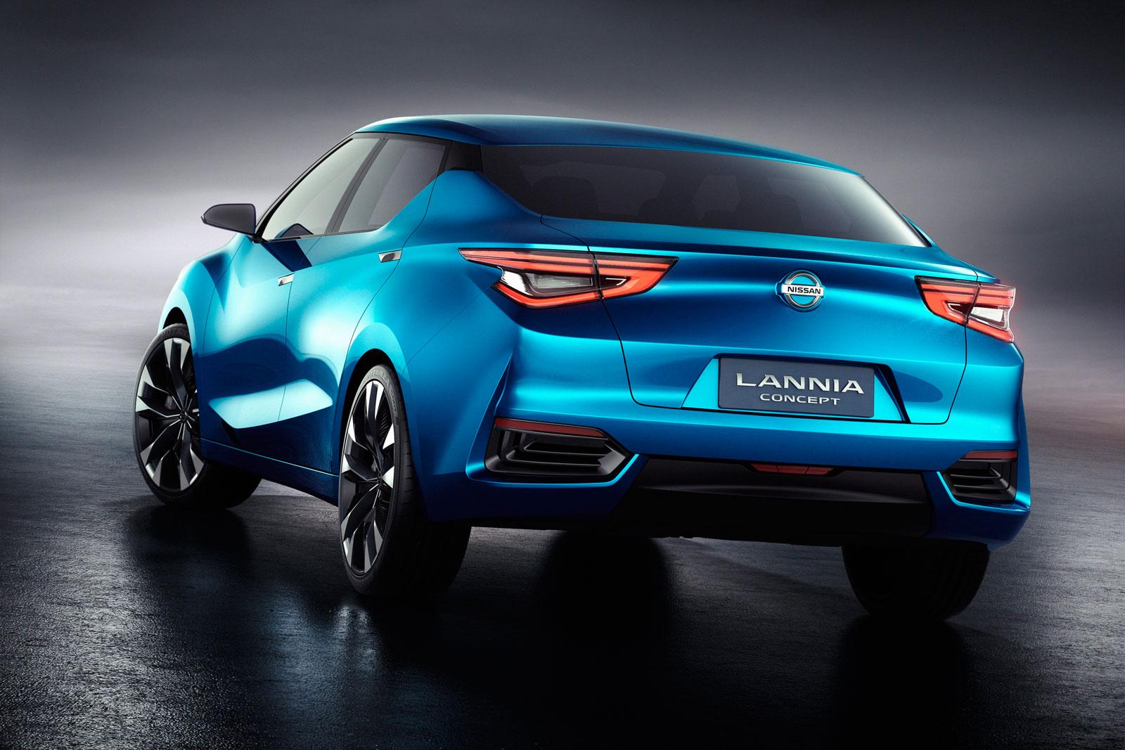 Nissan Lannia Concept - Car Body Design