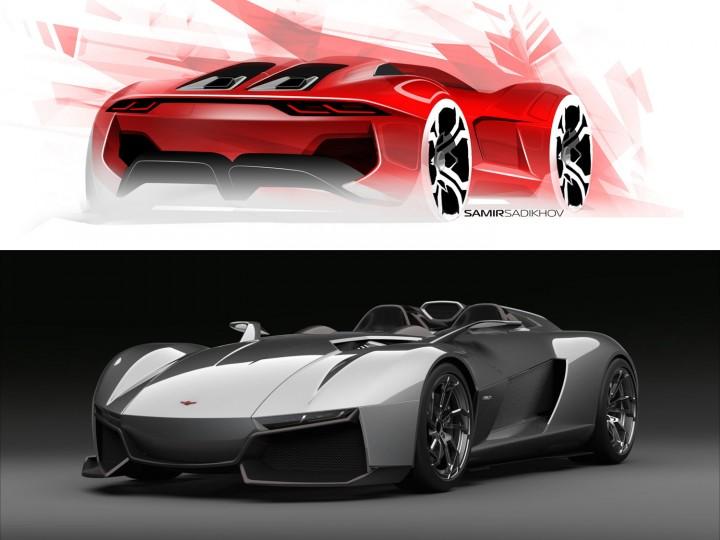 Rezvani Unveils Ariel Atom Based Beast Supercar