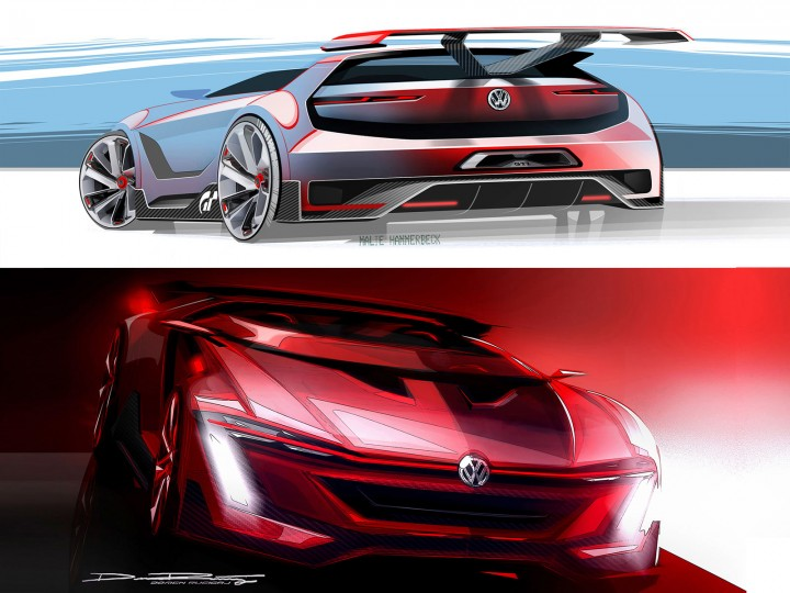 Volkswagen previews Vision GTI Roadster Concept for Gran Turismo