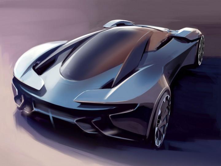 Aston Martin Unveils Dp 100 Vision Gran Turismo Concept Car Body