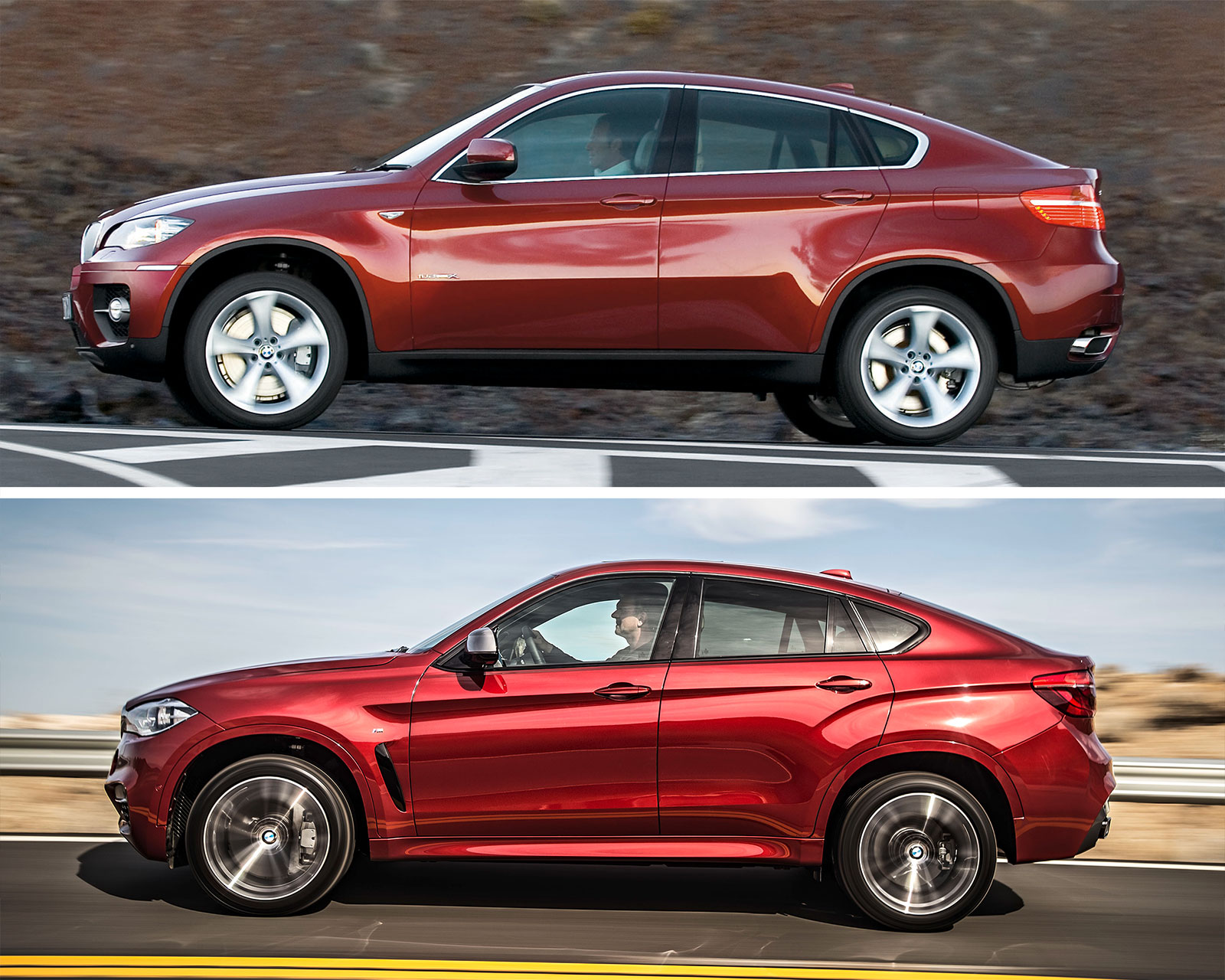 BMW X6 1st and 2nd generation - Design Comparison