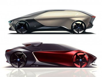BMW i Concepts by Chris Lee