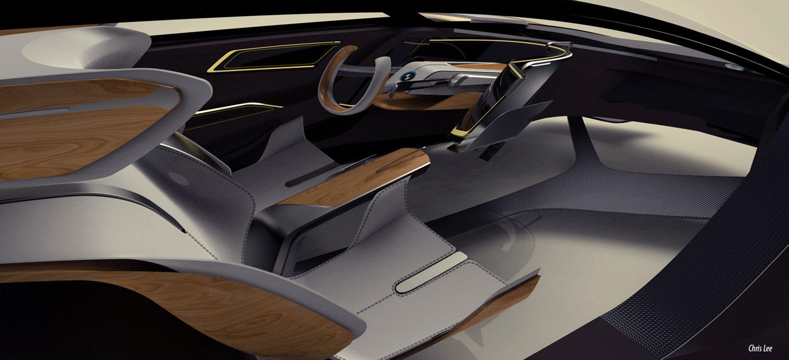 Bmw I2 Concept Interior Design Sketch Car Body Design